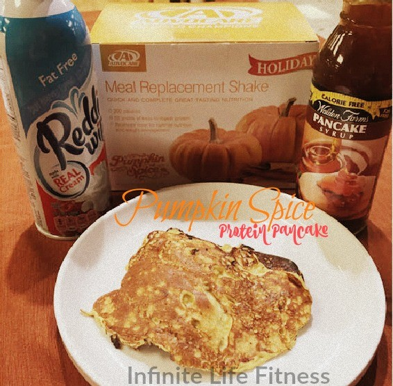 Infinite Life Fitness Recipe: Pumpkin Spice Protein Pancake…